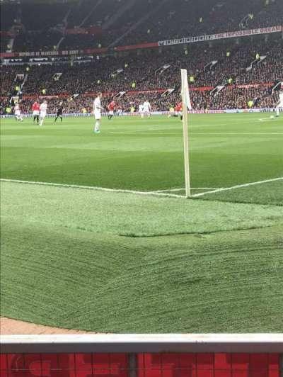 Old Trafford, secção: E132, fila: CC, lugar: 20