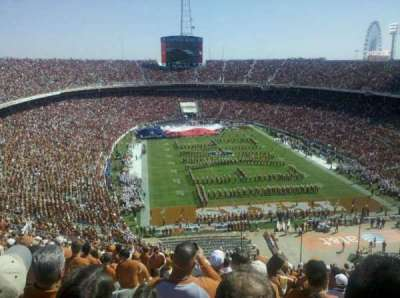 Cotton Bowl secção 118