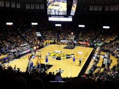 Charles Koch Arena, secção: 115, fila: 29