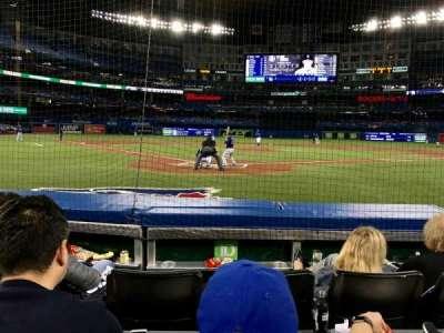 Rogers Centre, secção: 120L, fila: 5, lugar: 109
