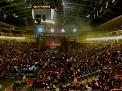 Giant Center secção 102A