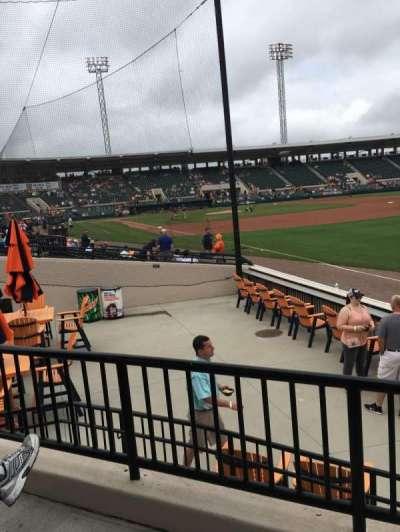 Joker Marchant Stadium, secção: Pepsi Pavilion