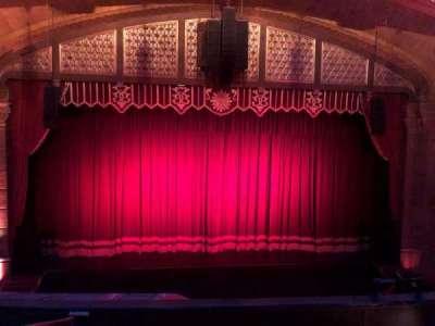 Fox Theatre (Atlanta), secção: Loge Left A, fila: EE, lugar: 109