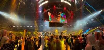 Staples Center secção 111