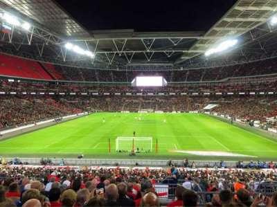 Wembley Stadium secção Home End