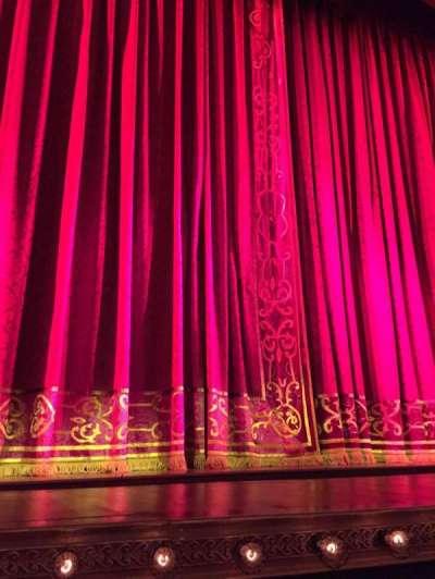 Shubert Theatre secção Orchestra C