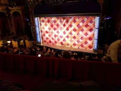 Brooks Atkinson Theatre secção Rear Mezzanine LC