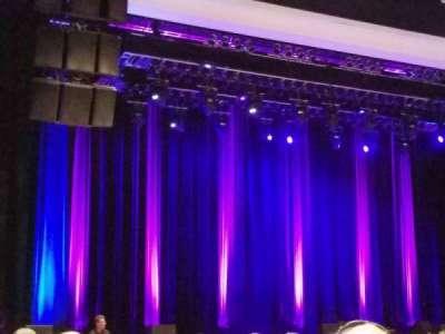 Borgata Event Center, secção: 100, fila: 16, lugar: 14