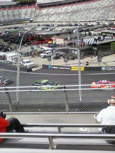 Bristol Motor Speedway secção Z