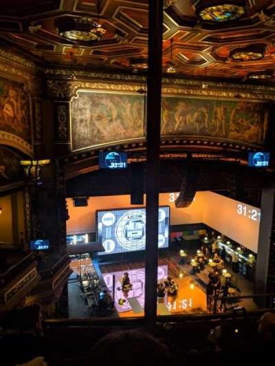 Belasco Theatre secção Balcony L