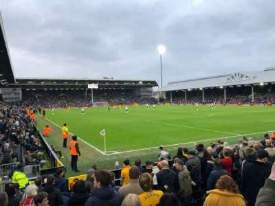 Craven Cottage, secção: Away Disabled Section