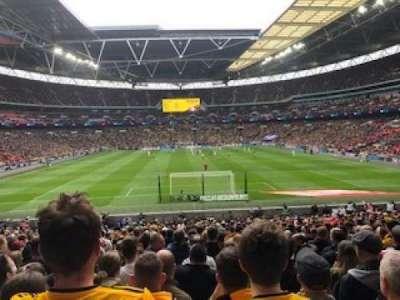 Wembley Stadium secção Block 112