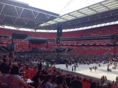 Wembley Stadium, secção: 118, fila: 28, lugar: 201