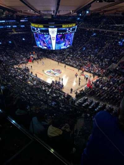 Madison Square Garden secção 317