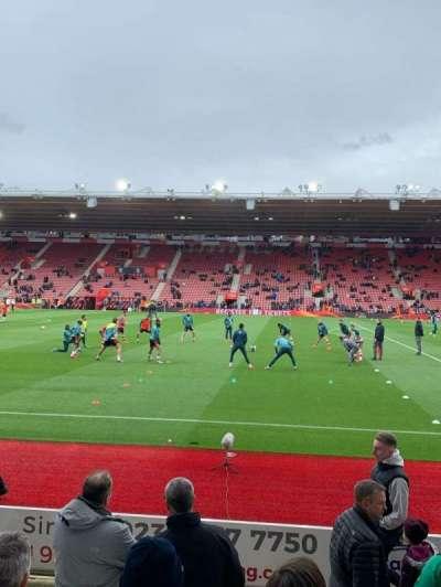St Mary's Stadium, secção: 29, fila: G, lugar: 0733