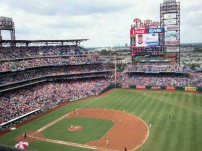 Citizens Bank Park secção 412V