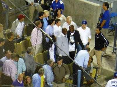 Dodger Stadium secção 10RS