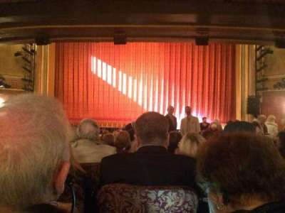 St. James Theatre secção Orch Center