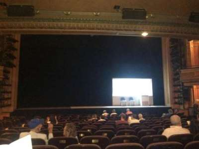 American Airlines Theatre, secção: Orch Center, fila: N, lugar: 111