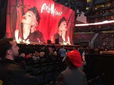 Philips Arena, secção: 116, fila: A, lugar: 4