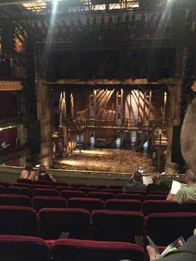 PrivateBank Theatre, secção: Mezzanine RC, fila: H, lugar: 314
