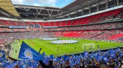 Wembley Stadium secção 136
