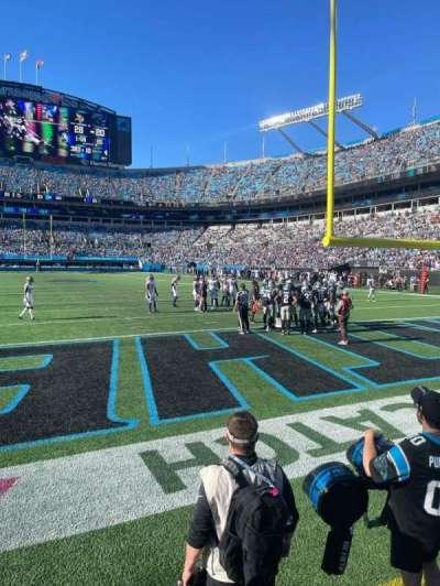 Bank of America Stadium secção 122