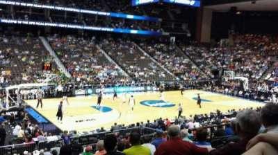 Jacksonville Veterans Memorial Arena, secção: 105, fila: T, lugar: 11