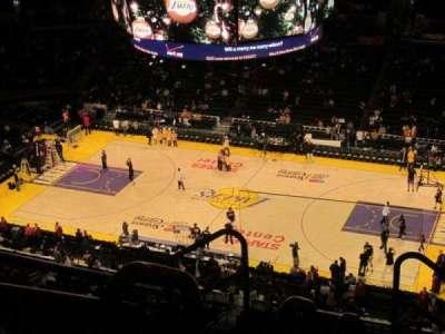 Staples Center secção 333
