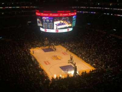 Staples Center secção 329