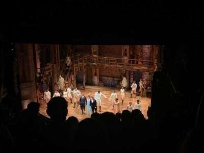 CIBC Theatre, secção: Mezzanine R, fila: K, lugar: 14