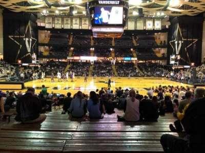 Memorial Gymnasium (Vanderbilt), secção: 3I, fila: 26, lugar: 12