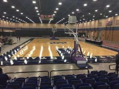 Mashburn Arena, secção: 2, fila: HH, lugar: 7