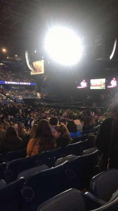 Allstate Arena, secção: 111, fila: K, lugar: 10