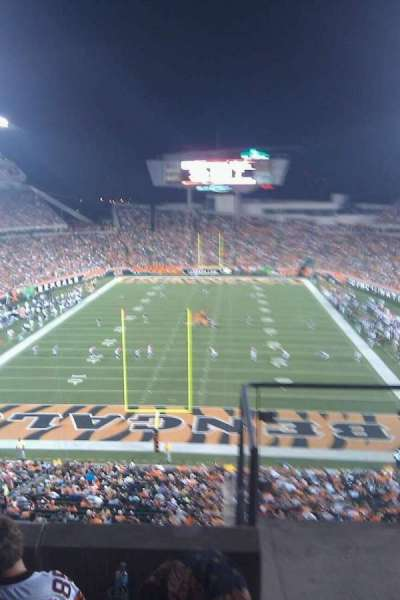Paul Brown Stadium, secção: 226