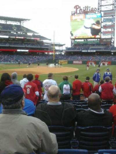 Citizens Bank Park secção 113