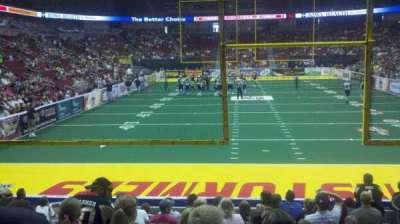 Wells Fargo Arena secção 110