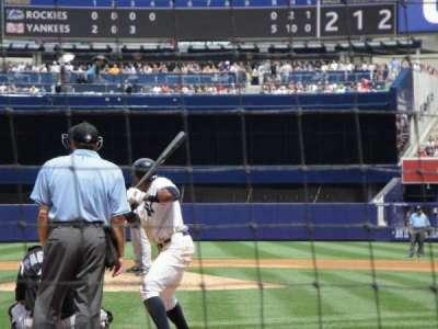 Yankee Stadium secção 020