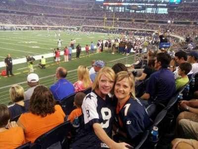 AT&T Stadium secção 142