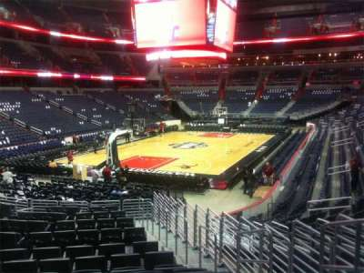 Capital One Arena secção 107