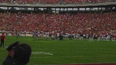 Cotton Bowl secção 1