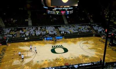 Matthew Knight Arena secção 204