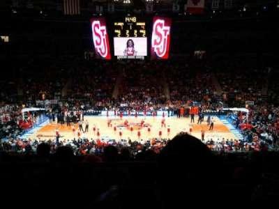 Madison Square Garden, secção: 224, fila: B, lugar: 4