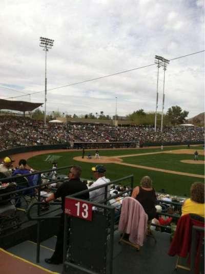 Phoenix Municipal Stadium, secção: SRO