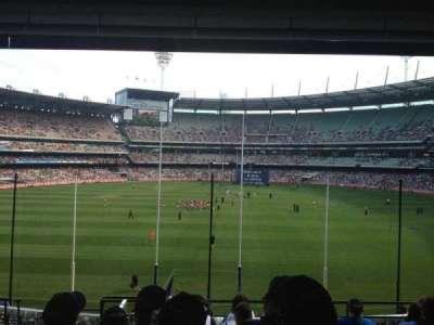 Melbourne Cricket Ground, secção: N3, fila: H, lugar: 13