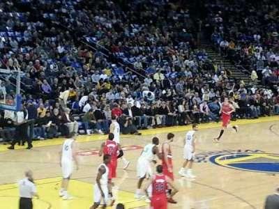Oakland Arena secção 105