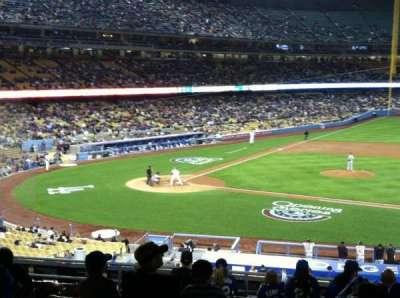 Dodger Stadium secção 134LG