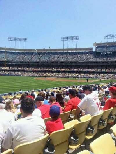 Dodger Stadium secção 45FD
