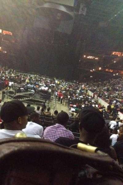 Capital One Arena secção 106