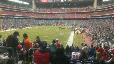 NRG Stadium secção 134